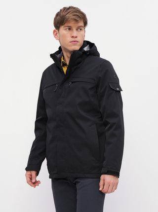 Čierna pánska nepromokavá zimná bunda s odnímateľnou vnútornou časťou 2v1 killtec