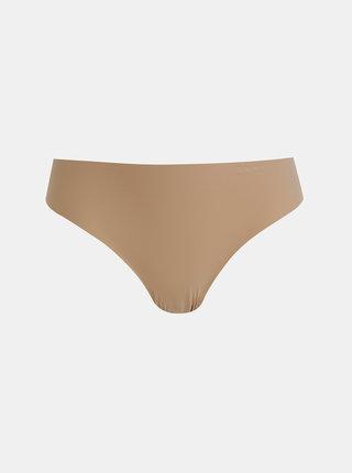 Tělová bezešvá tanga DKNY