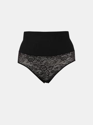 Čierne sťahovacie krajkové nohavičky Maidenform