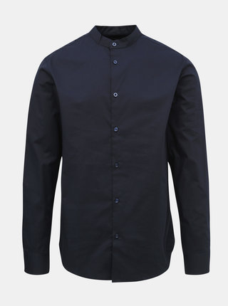 Tmavomodrá slim fit košeľa Selected Homme Miami
