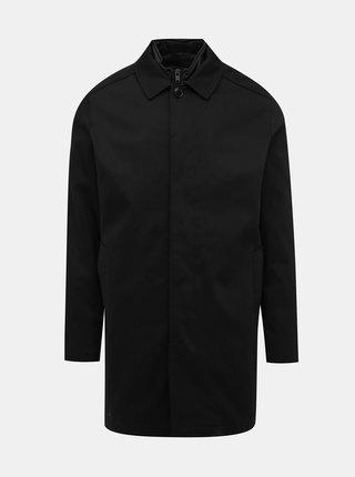 Čierny ľahký kabát s odnímateľnou vsadkou Selected Homme Ken