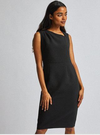 Čierne púzdrové šaty Dorothy Perkins Petite