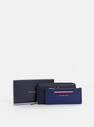 Tmavě modrá peněženka s pouzdrem 2v1 Tommy Hilfiger