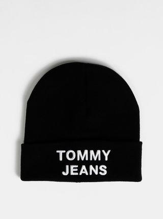 Černá pánská čepice Tommy Hilfiger
