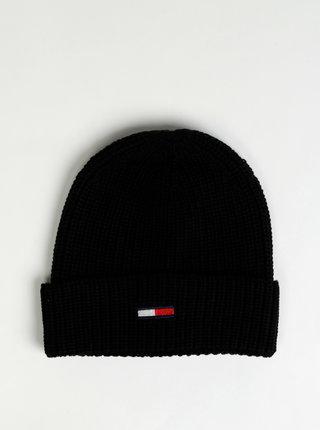 Čierna dámska čapica Tommy Hilfiger