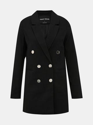Černé dlouhé sako TALLY WEiJL Fisel