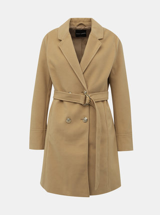 Béžový kabát TALLY WEiJL Fliam