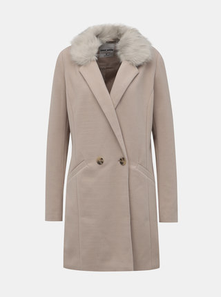 Béžový kabát TALLY WEiJL Fati
