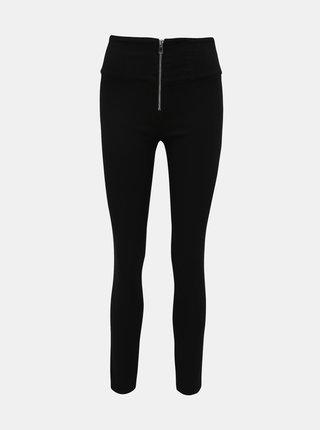 Čierne skinny fit nohavice TALLY WEiJL Vokyz