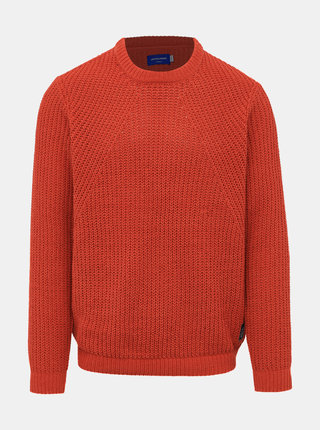 Oranžový sveter Jack & Jones Chen