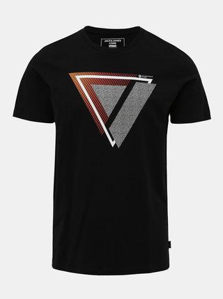 Čierne tričko Jack & Jones Booster