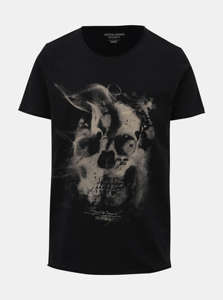 Čierne tričko Jack & Jones Dark