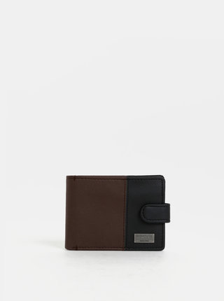 Černo-hnědá pánská peněženka Rip Curl Clip Cut
