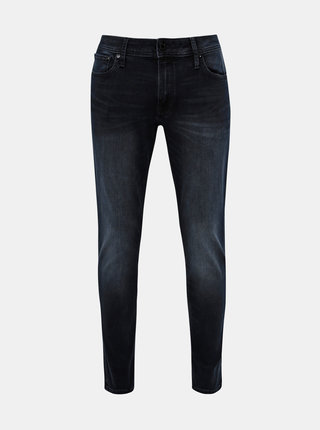 Tmavomodré skinny fit rifle Jack & Jones Liam