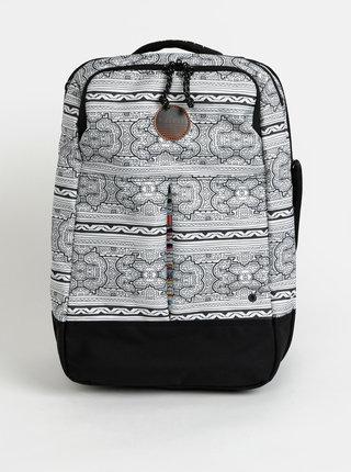 Bílý vzorovaný kufr Rip Curl Mai Ohana 35 l