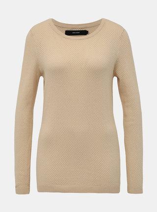 Béžový sveter VERO MODA Minnie