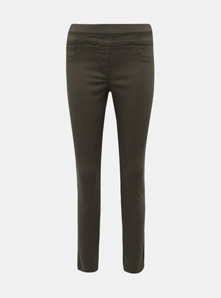 Khaki jeggings M&Co