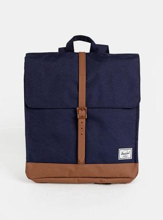 Tmavě modrý batoh Herschel Supply City Mid 14 l