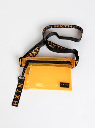 Oranžová transparentní ledvinka HXTN Supply Prime
