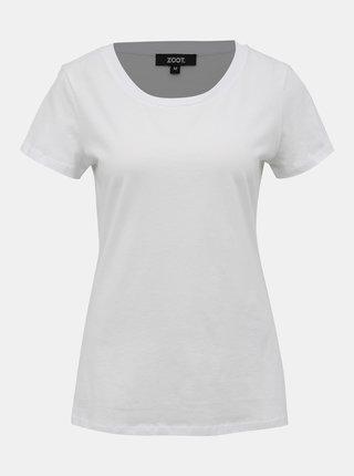 Biele dámske basic tričko ZOOT Dana