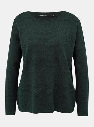 Tmavozelený sveter ONLY Brenda