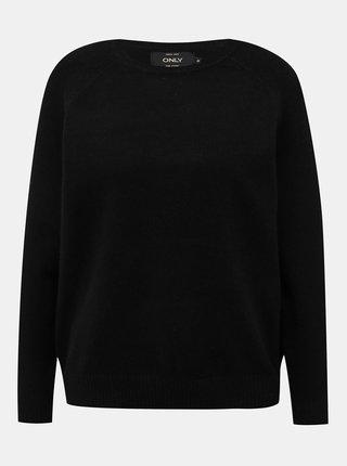 Čierny basic sveter ONLY Lesly