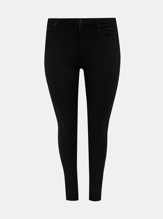 Černé skinny fit džíny ONLY CARMAKOMA Gloria