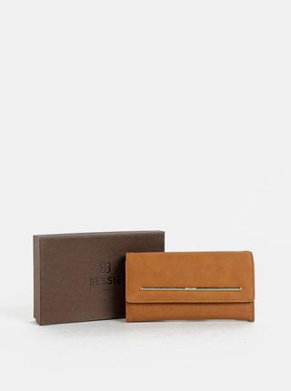 Hnedá peňaženka Bessie London