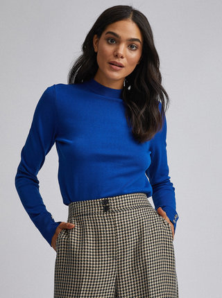 Modrý sveter Dorothy Perkins