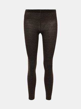 Hnedé pančuchové nohavice Pompea