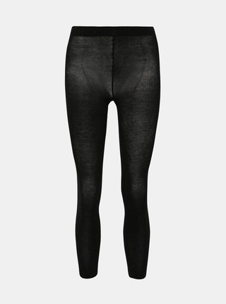 Čierne pančuchové nohavice Pompea