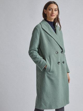 Mentolový kabát Dorothy Perkins