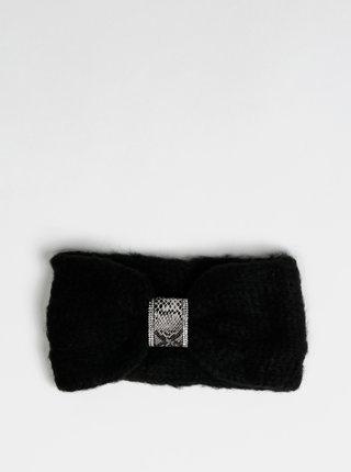 Černá čelenka s ozdobou Haily´s Carilla