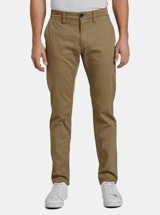 Hnědé pánské chino kalhoty Tom Tailor
