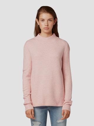 Růžový dámský svetr Tom Tailor Denim