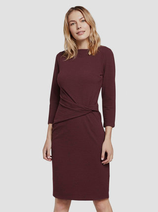 Vínové šaty Tom Tailor