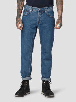Modré pánske regular fit rifle Tom Tailor Denim