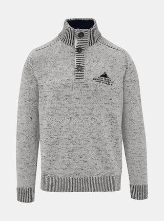 Světle šedý pánský svetr Tom Tailor