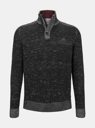Tmavošedý pánsky sveter Tom Tailor