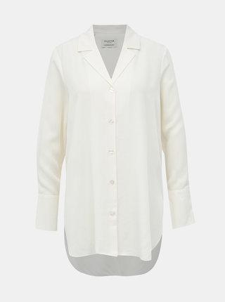 Krémová košile Selected Femme Fida