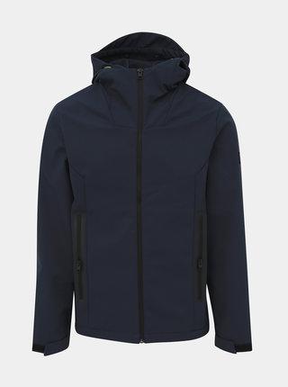 Tmavě modrá lehká voděodpudivá bunda Jack & Jones Pearce