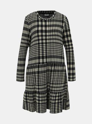 Černo-béžové vzorované svetrové šaty Jacqueline de Yong Brienne