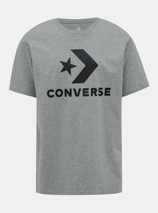 Šedé pánske tričko Converse