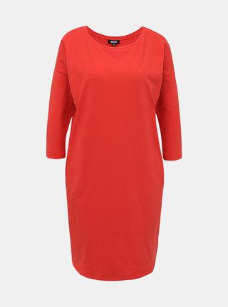 Červené basic šaty ZOOT Serena