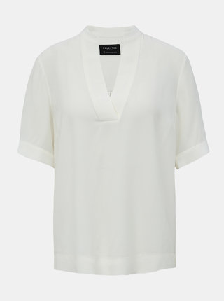 Biela blúzka Selected Femme Fella