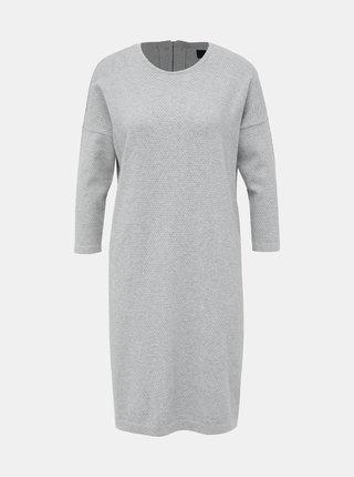 Šedé svetrové šaty VERO MODA Minniecare