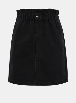 Černá džínová sukně Noisy May Judo