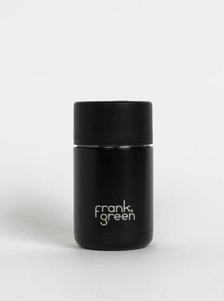 Čierny nerezový cestovný hrnček Frank Green Ceramic 295 ml