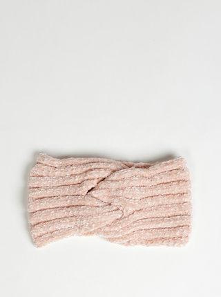 Světle růžová čelenka Haily´s Avery