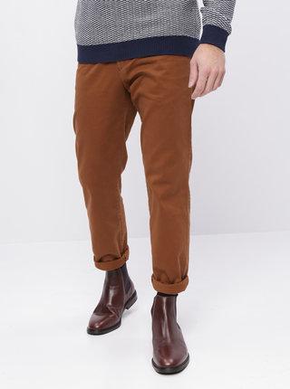 Hnědé pánské chino kalhoty ZOOT Franco